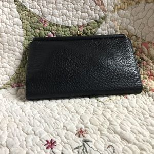 Dooney & Bourke Bags - VTG Dooney & Bourke Black/BC Wallet & Key Fob
